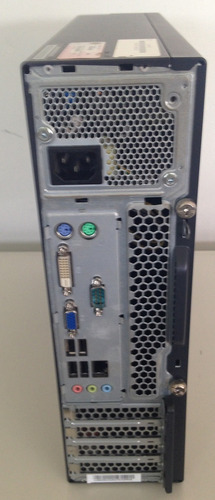 cpu lenovo m72e pentium dual core 4gb hd 250 windows7 usada!