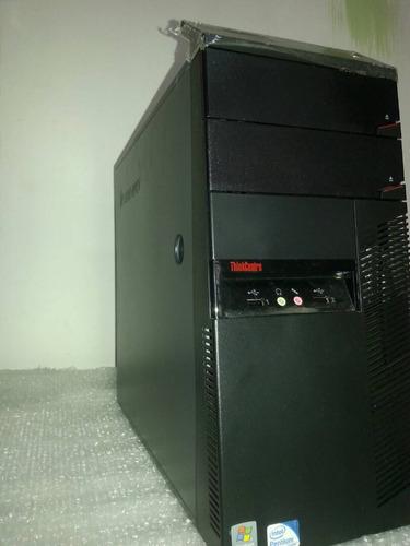 cpu lenovo nuevo core 2 duo 4 ram ,160 gb ofertazo aproveche