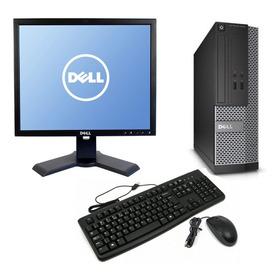Cpu Monitor Dell Optiplex Core I3 4gb 500gb - Novo