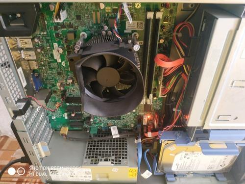cpu monitor dell optiplex core i3 4gb 500gb