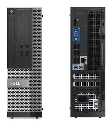 cpu monitor dell optiplex core i3 quarta geração 4gb 500gb