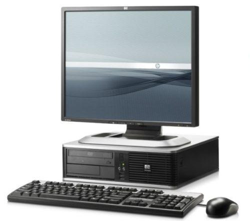 cpu + monitor hp 15 + mouse y teclado $ 4,900