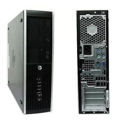 cpu + monitor hp compac elite core i7 8gb 500gb - novo