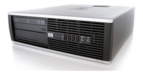 cpu + monitor hp compac elite core i7 8gb 500gb - promoção