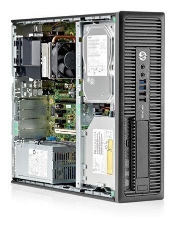 cpu + monitor hp prodesk core i7 4gb 500gb 20 pol  - novo