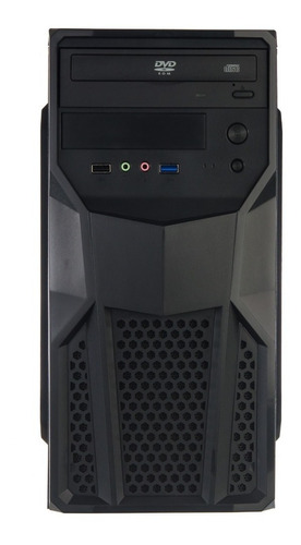 cpu nova intel core i5 4gb hd 500gb dvd hdmi 1 ano garantia