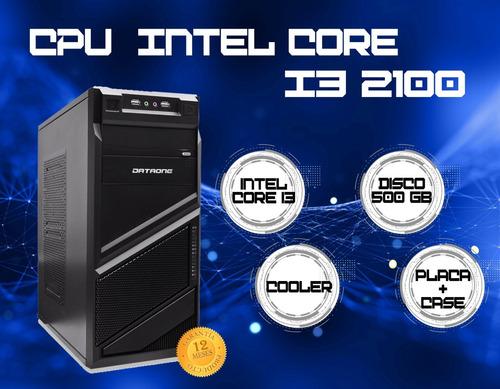 cpu para oficina intel core i3 2100