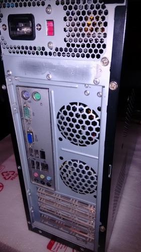 cpu preta processador dual core -  intel 2.5 ghz + hd 250gb