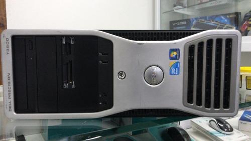 cpu workstation dell t3500 xeon w3520 4gb hd 250gb com garan