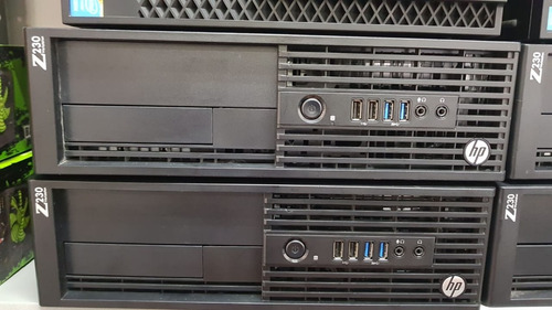 cpu workstation hp z230 intel xeon e3-1245 4gb hd 500 com frete grátis e até em 12x sem juros com garantia e nota fiscal