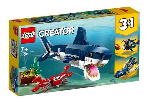 cr criaturas del mundo marino lego - 31088