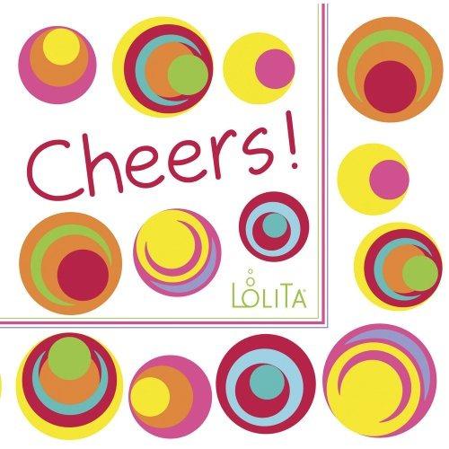 cr gibson lolita 20 cuenta bebida servilletas ojos de pes
