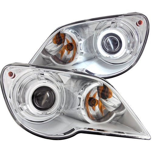 cr pacifica 07-08 projector hl halo chrome hid/ccfl