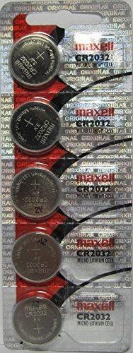 cr2032 maxell 5 pilas de litio