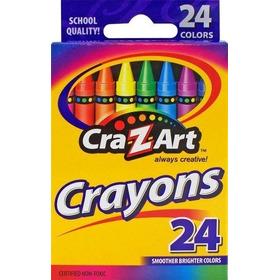 Cra-z-art Crayons, 24 Count (10201) , Nuevo