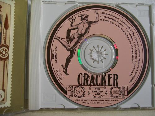 cracker, the golden age, cd importado japão original raro