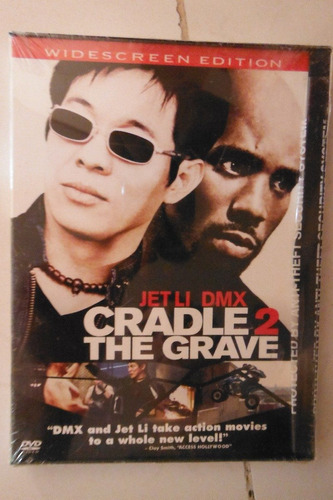 cradle 2 the grave import usa movie jet li - dmx - kelly hu
