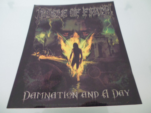 cradle of filth /  calcomanía / stickers / made in u.s.a /