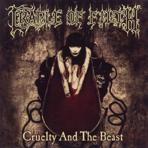 cradle of filth - cruelty and the beast - importado