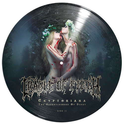 cradle of filth - cryptoriana - vinilo doble - picture lp