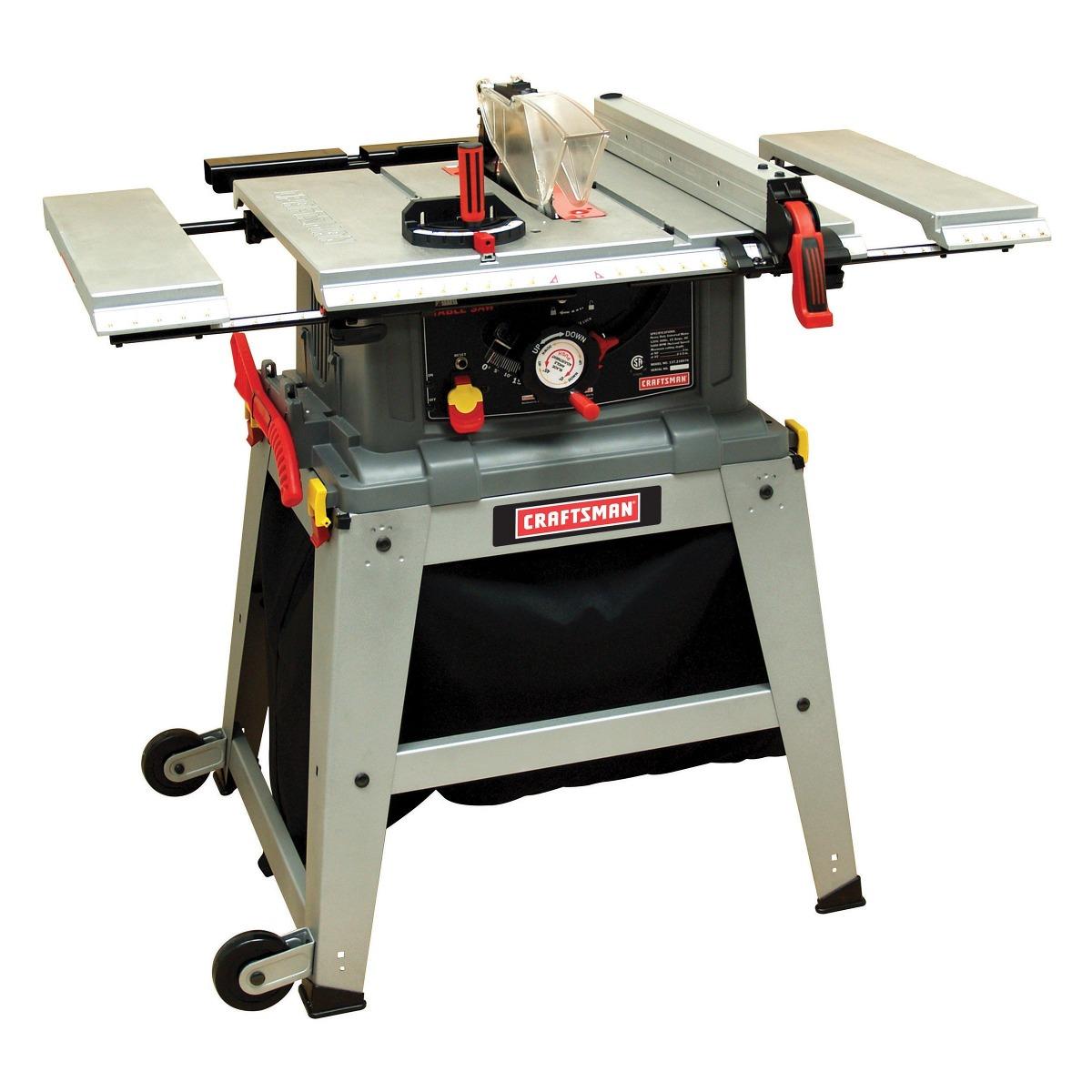 Craftsman sierra de mesa de 10 in laser track envio gratis for Sierras de mesa