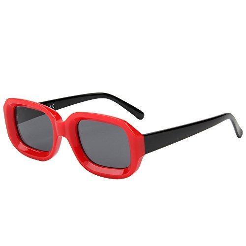 5d938b76b8 Cramilo Retro Gafas De Sol Cuadradas Pequeñas Para Las... - $ 35.990 ...