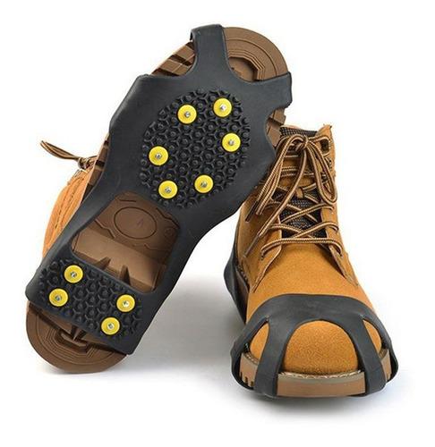 crampones hielo nieve para calzado 10 picks antideslizanteº