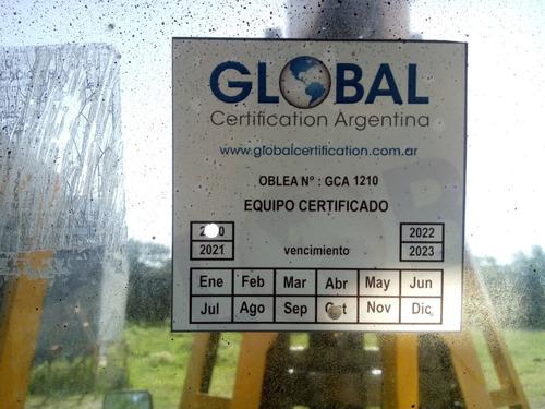 cranemobile 7,5t certificada