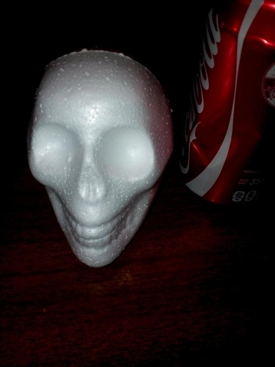 Craneo Calavera Unicel Papeleria Halloween Dia De Muertos 5