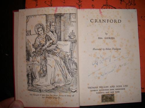 cranford  / mrs. gaskell   r