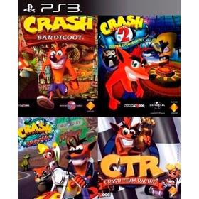 Crash Bandicoot 1, 2, 3 + Ctr Crash Team Racing Ps3 Digital