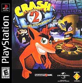 crash bandicoot 2 cortex strikes back ps1 compatible con ps2