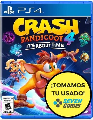 crash bandicoot 4 its about time ps4 juego fisico sellado