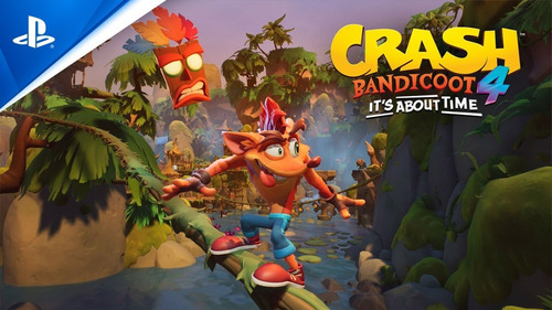 crash bandicoot 4: it's about time ps4 juego nuevo fisico