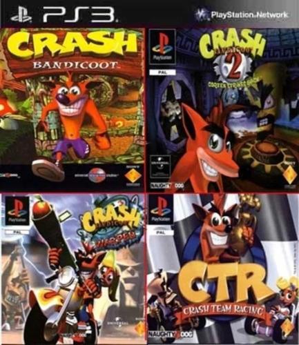 crash bandicoot collection - ps3 digital - promoción