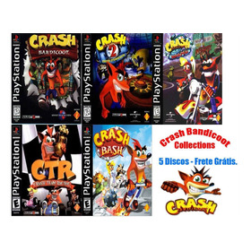 Crash Bandicoot Collections - Playstation 1 One Psx