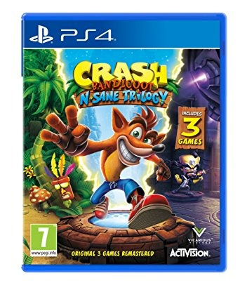 crash bandicoot n. sane trilogy juego ps4 fisico sellado