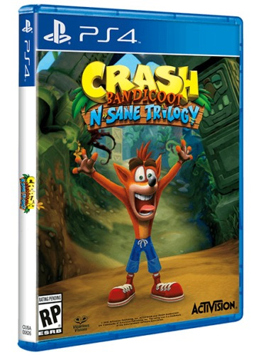 crash bandicoot n. sane trilogy ps4 -  delivery incluido