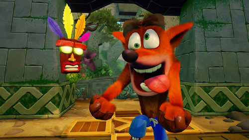 crash bandicoot n.sane trilogy - ps4 - digital - español