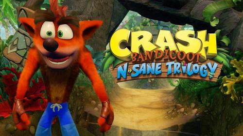 crash bandicoot n.sane trilogy - ps4 - digital - español