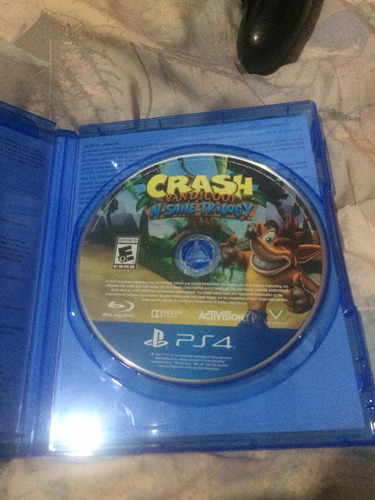 crash bandicoot ps4 como nuevo