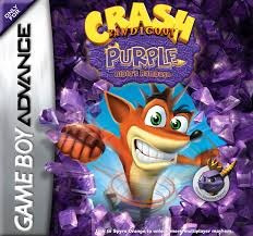 crash bandicoot purple (completo) - gba