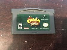 crash bandicoot the huge adventure (completo) - gba