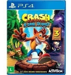 crash bandicoot trilog ps4 original  primária jogo vitalicio