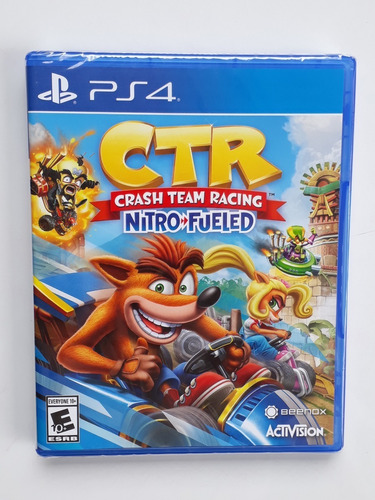 crash ctr car juego ps4 nuevo y sellado