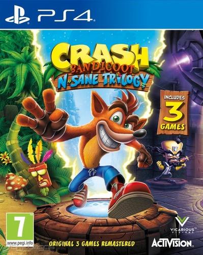 crash insane trilogy ps4 digital neogamez primaria
