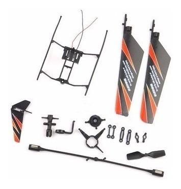 crash kit para helicoptero rc wl911
