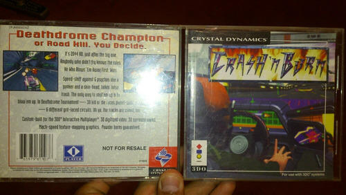 crash 'n burn para consola 3do