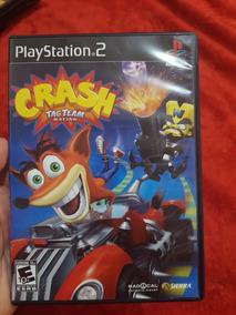 Crash Tag Team Racing Ps2 Black Label Americano