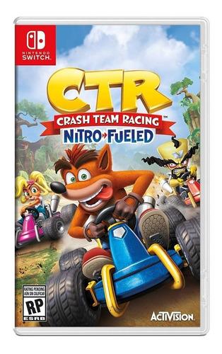 crash team racing,   , nintendo switch, sellado físico nuevo